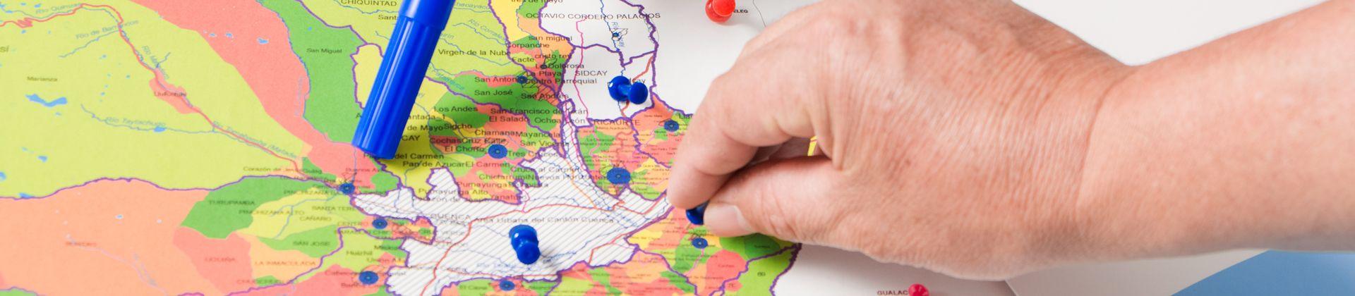 Irene mapa